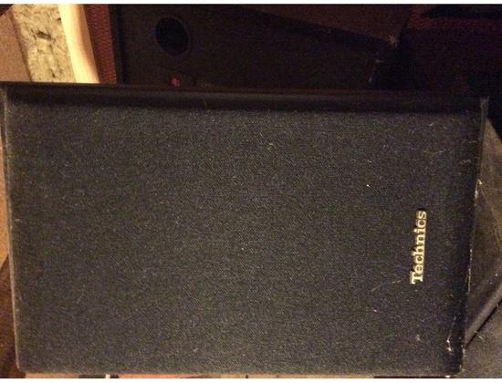 Technics SB-LV105 2 Way Stereo Speakers
