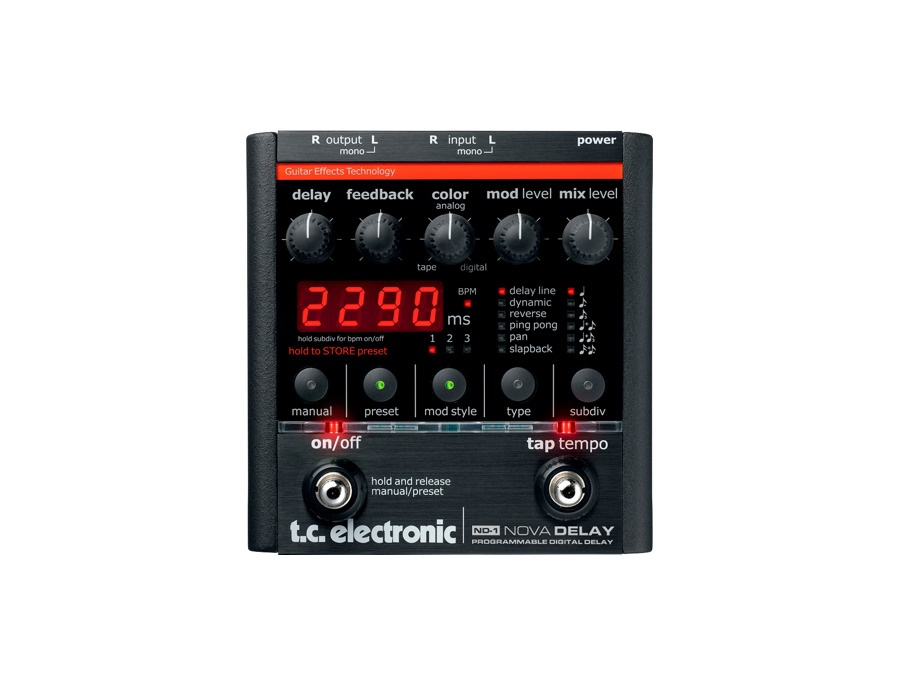 Tc electronic nd 1 nova delay xl