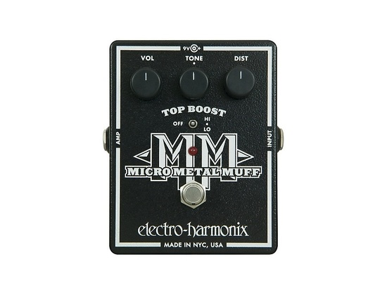 Electro-Harmonix XO Micro Metal Muff Distortion Guitar Effects Pedal