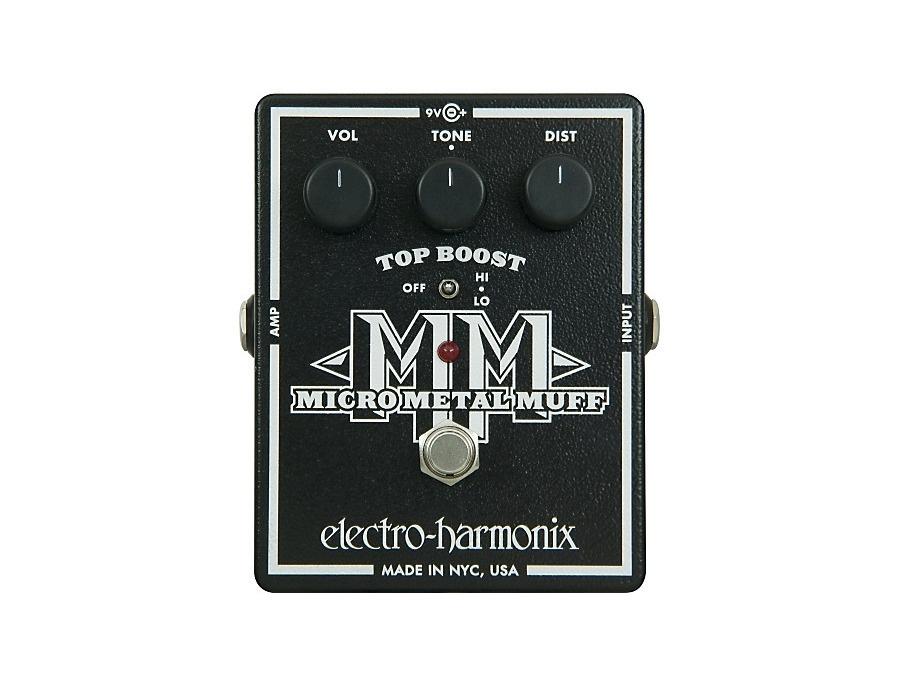 Electro-Harmonix XO Micro Metal Muff Distortion Guitar Effects Pedal