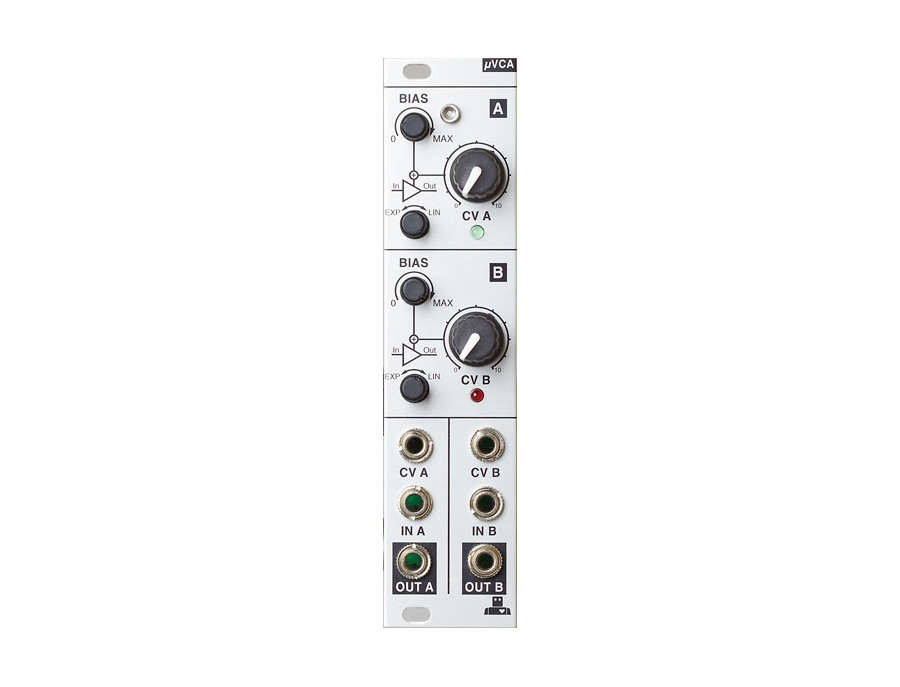 Intellijel µVCA Dual log/lin VCA