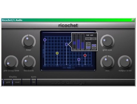 Audiodamage Ricochet
