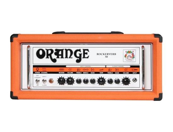 Orange Rockerverb 50 Guitar Amp Head