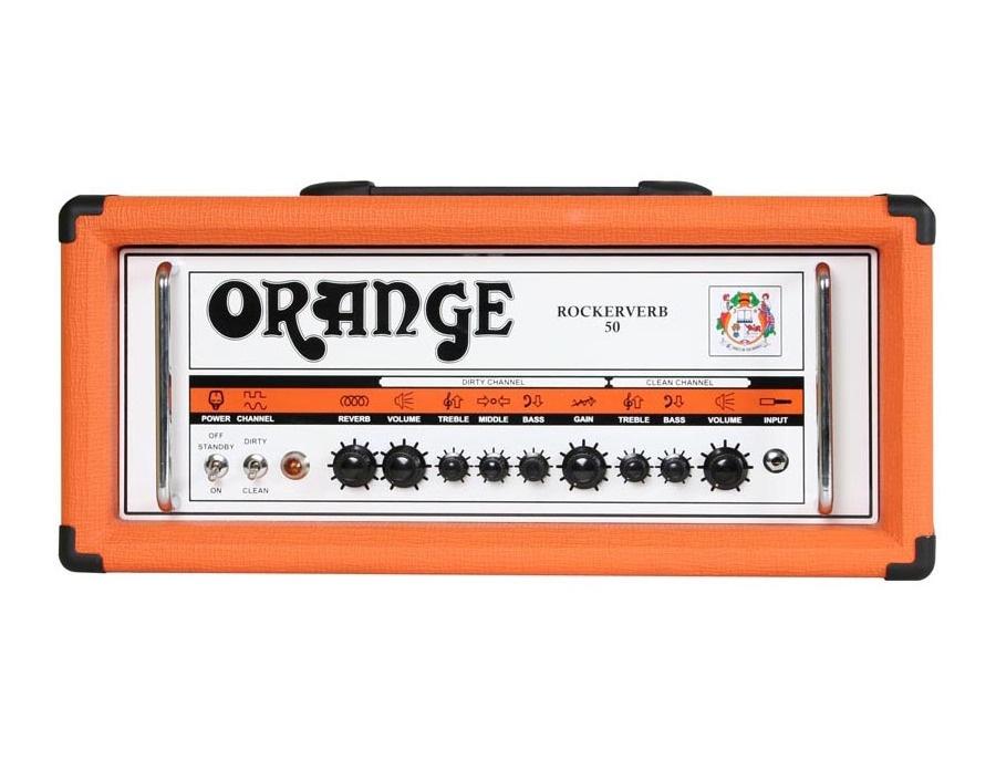 Orange rockerverb 50 guitar amp head xl