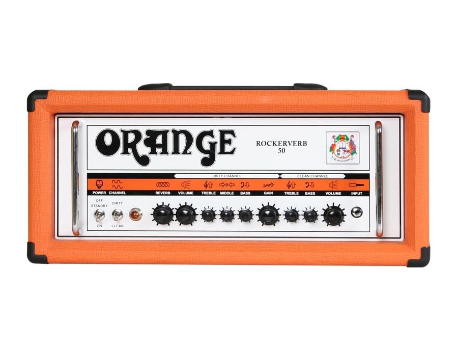 Orange Rockerverb 50 Guitar Amp Head