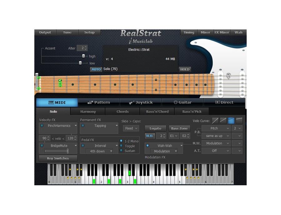 Musiclab realstrat xl
