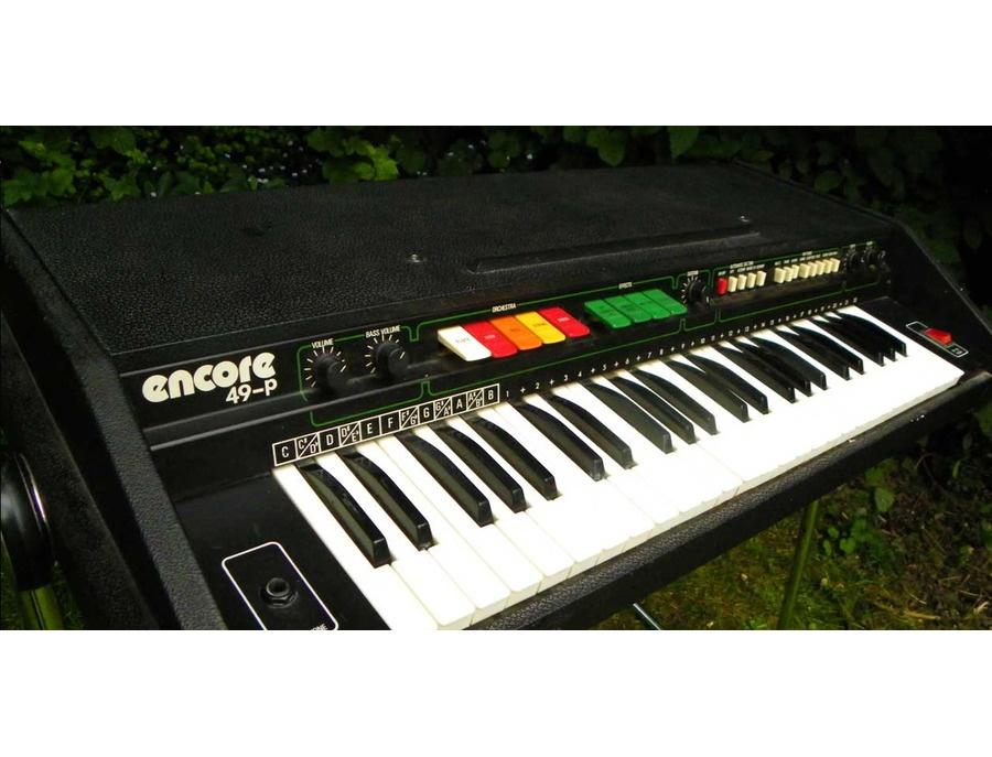 EKO Panda Encore 49 p Vintage Piano