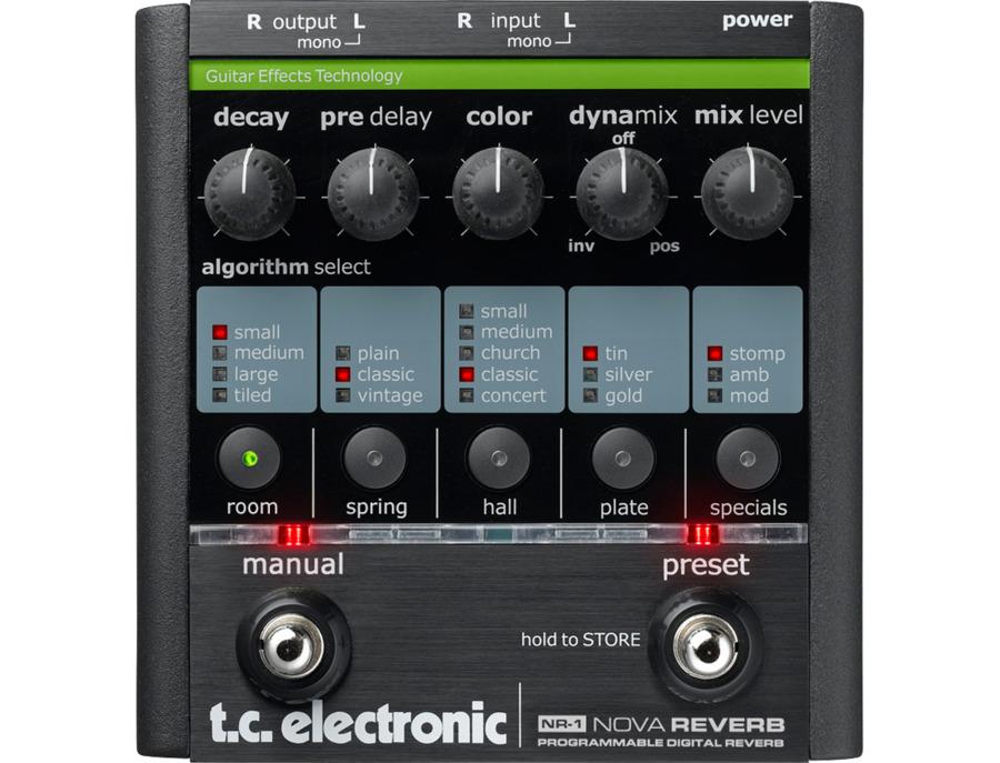 Tc electronic nr 1 nova reverb xl