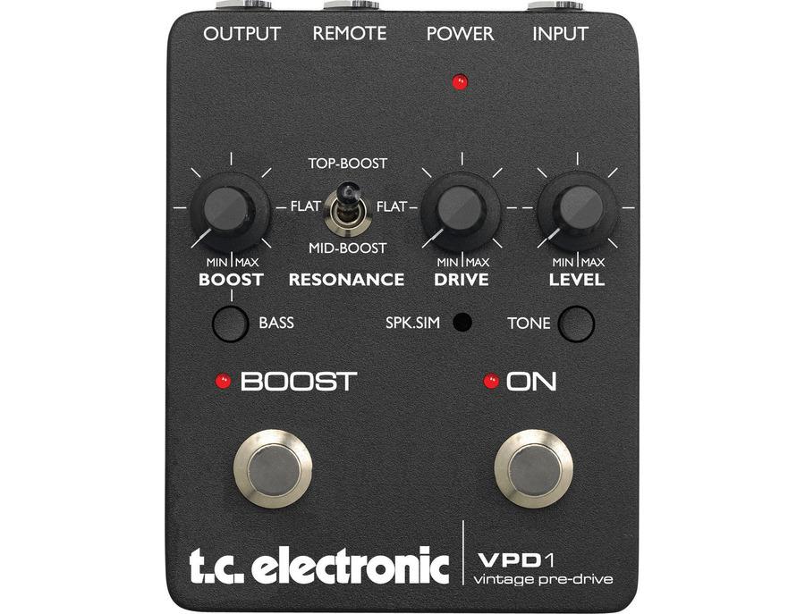 TC Electronic VPD1 vintage pre-drive