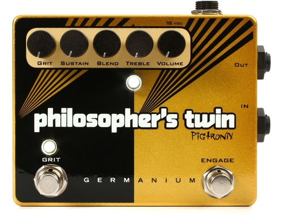 Pigtronix Philosopher's Twin Germanium