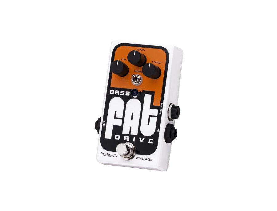 Pigtronix bass fat drive xl