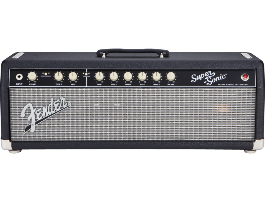 Fender Super Sonic 60 Head