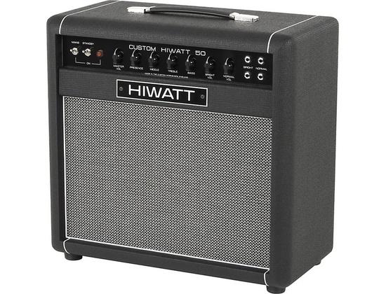 Hiwatt Custom 50W 1X12 Tube Guitar Combo Amp