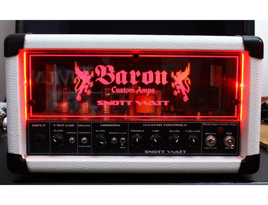 Baron Snott Watt 5W Valve Amp Head