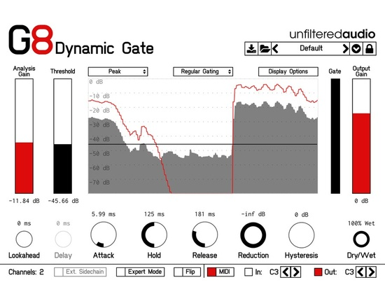 Unfiltered Audio - G8 Dynamic Gate