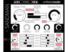 Unfiltered audio sandman delay looper s