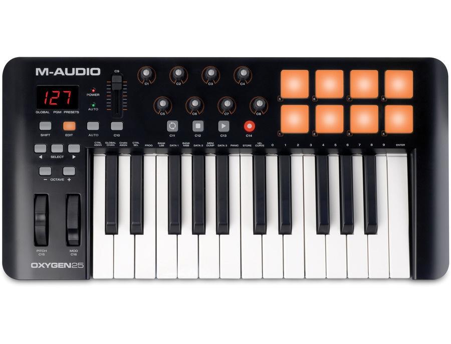 M-Audio Oxygen 25 Mk4 MIDI Keyboard Controller