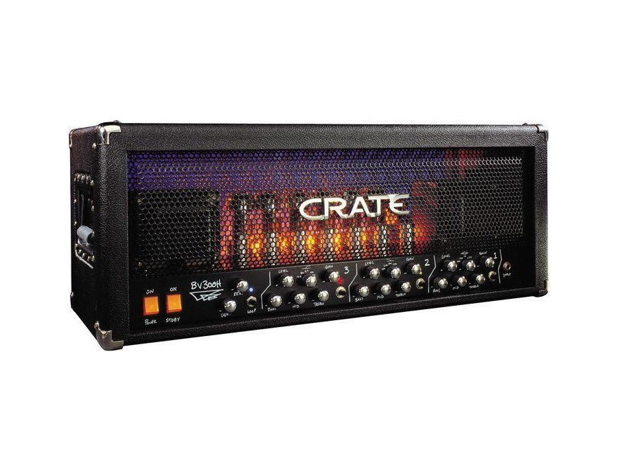 crate bv300hb blue voodoo guitar amp head reviews prices equipboard. Black Bedroom Furniture Sets. Home Design Ideas