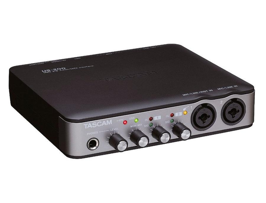 Tascam US-200 USB 2.0 Audio/Midi Interface