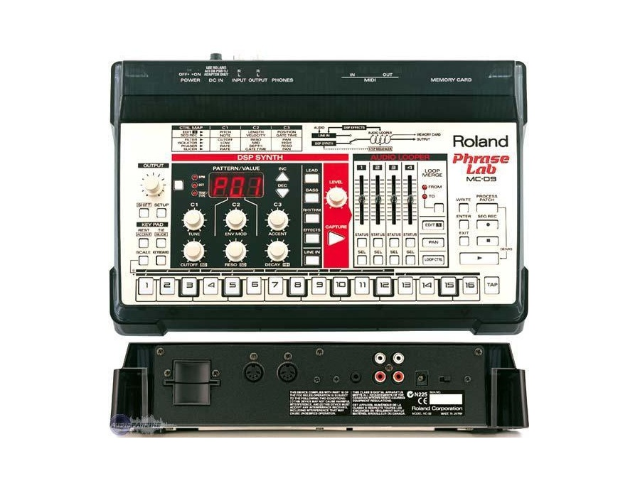 Roland MC-09 Phrase Lab