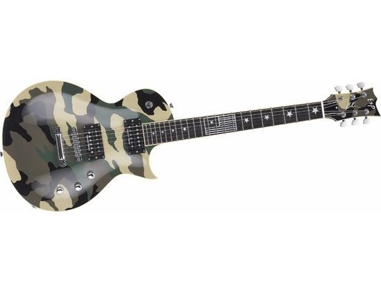 ESP Will Adler Eclipse Camo Electric Guitar