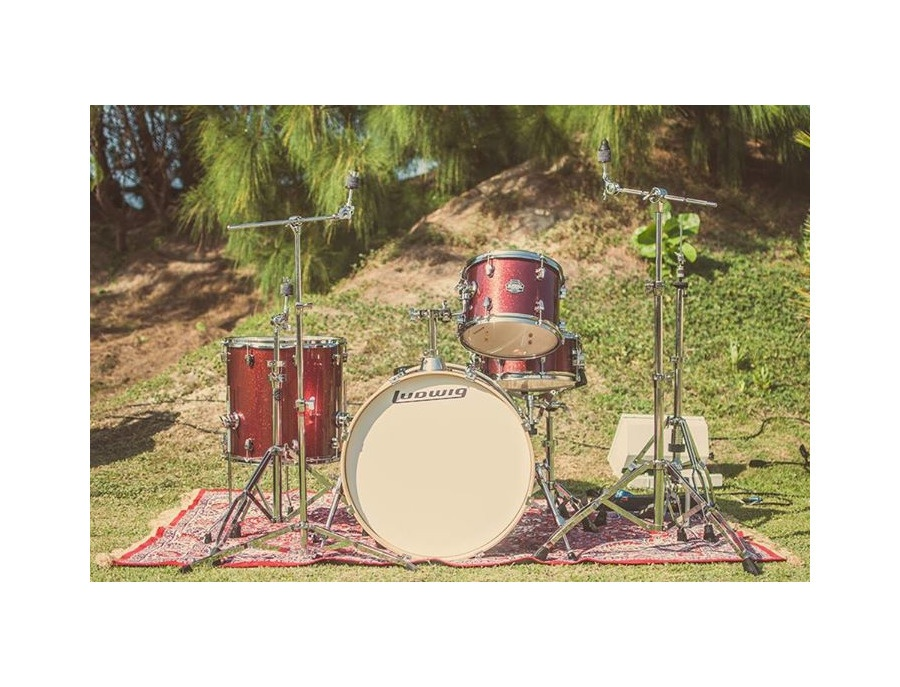 Ludwig Element Birch Icon Wine Red Sparkle