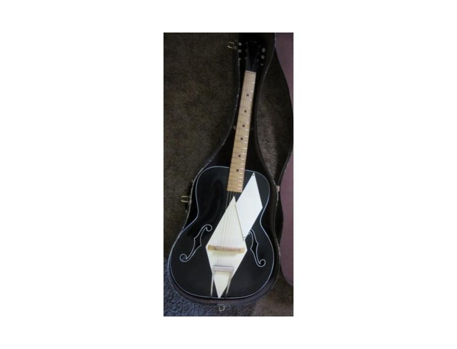Airline Archtop Art Deco D4 Acoustic Guitar