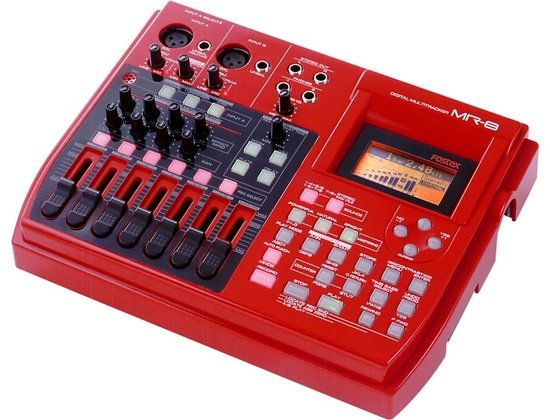 Fostex MR8 digital multitrack recorder