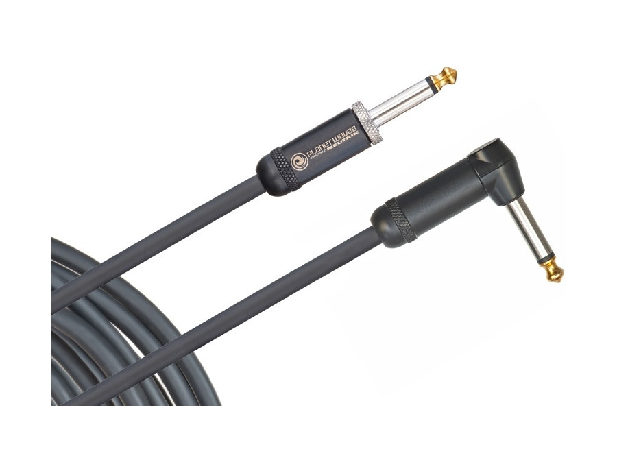 Planet Waves American Stage Instrument Cable, Right to Straight, 10'