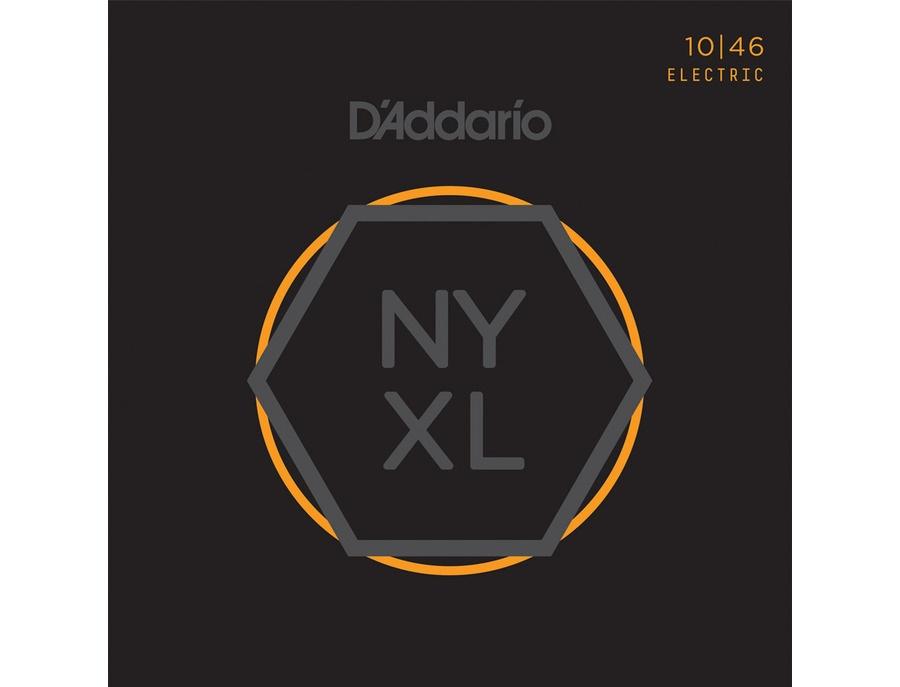 D addario nyxl nickel wound light electric guitar strings 10 46 xl