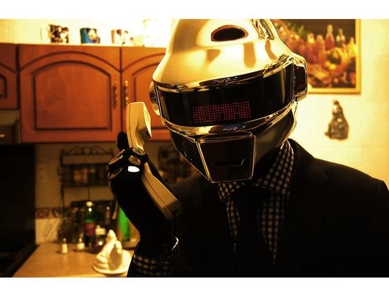 Daft Punk Thomas Helmet