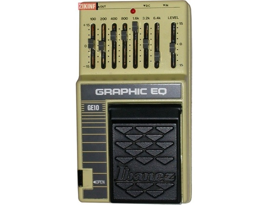 Ibanez GE10 Graphic Equalizer