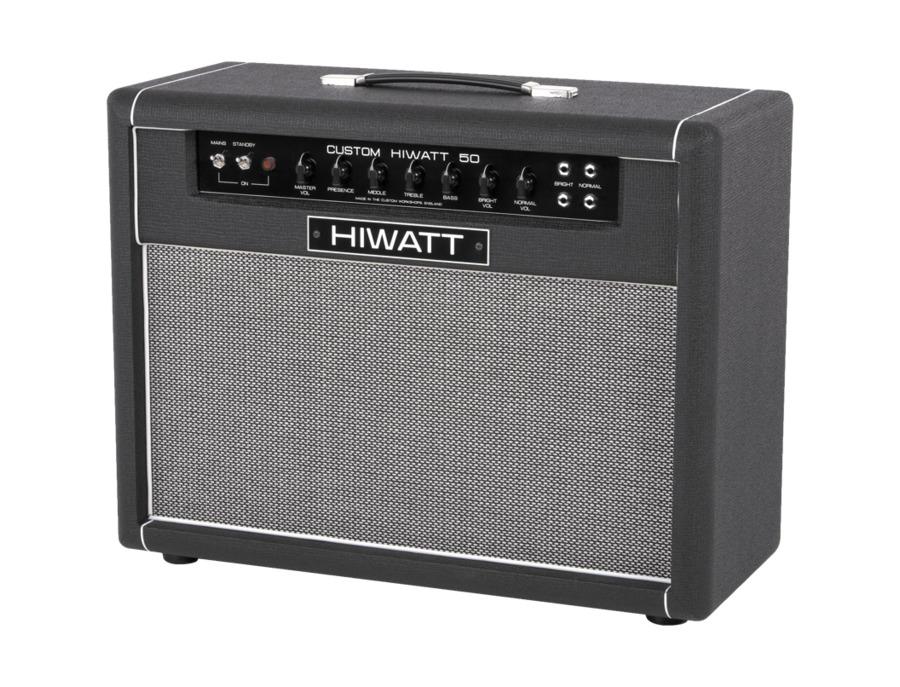 Hiwatt custom 50w 2x12 tube guitar combo amp xl