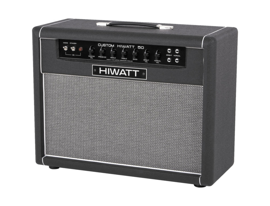 Hiwatt Custom 50W 2X12 Tube Guitar Combo Amp