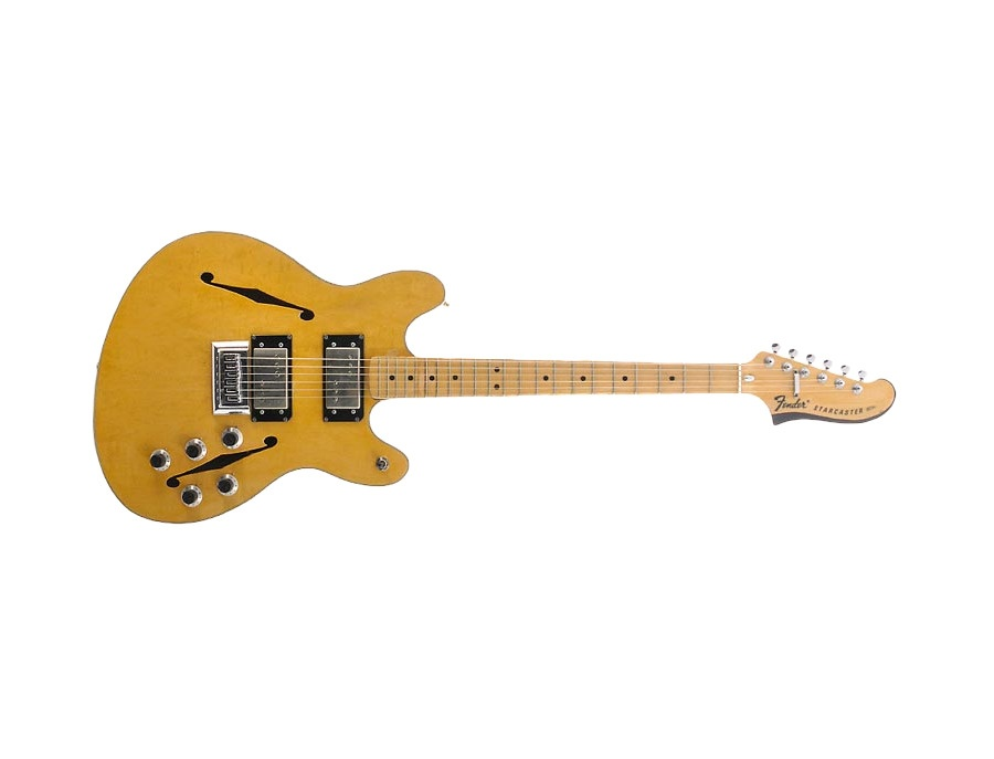 Fender starcaster semi hollowbody electric guitar xl