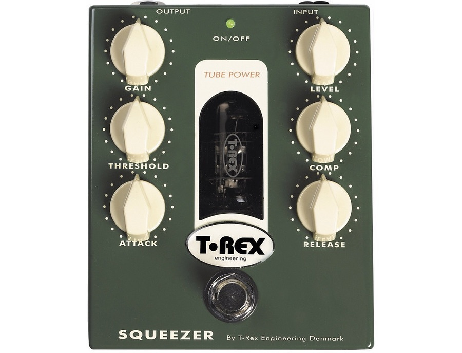 T rex engineering squeezer tube driven bass compressor pedal xl