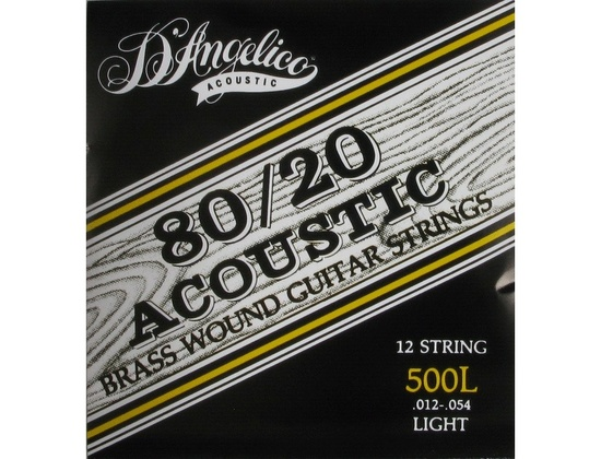 D'Angelico 80/20 Brass Strings Reviews & Prices | Equipboard®