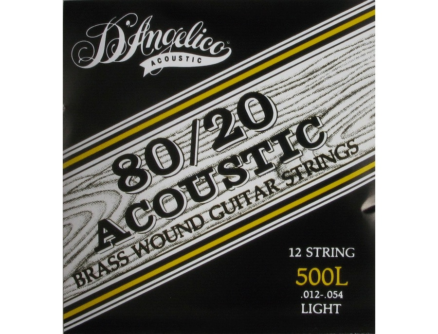 D angelico 80 20 brass strings xl