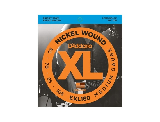 D'Addario Xl Nickel Wound Bass Strings