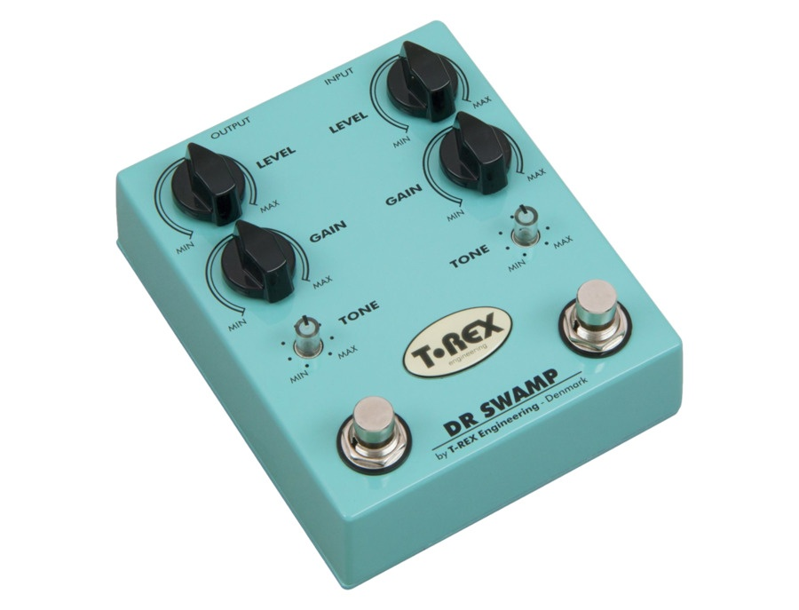 T-Rex Engineering Dr. Swamp Double Distortion Pedal