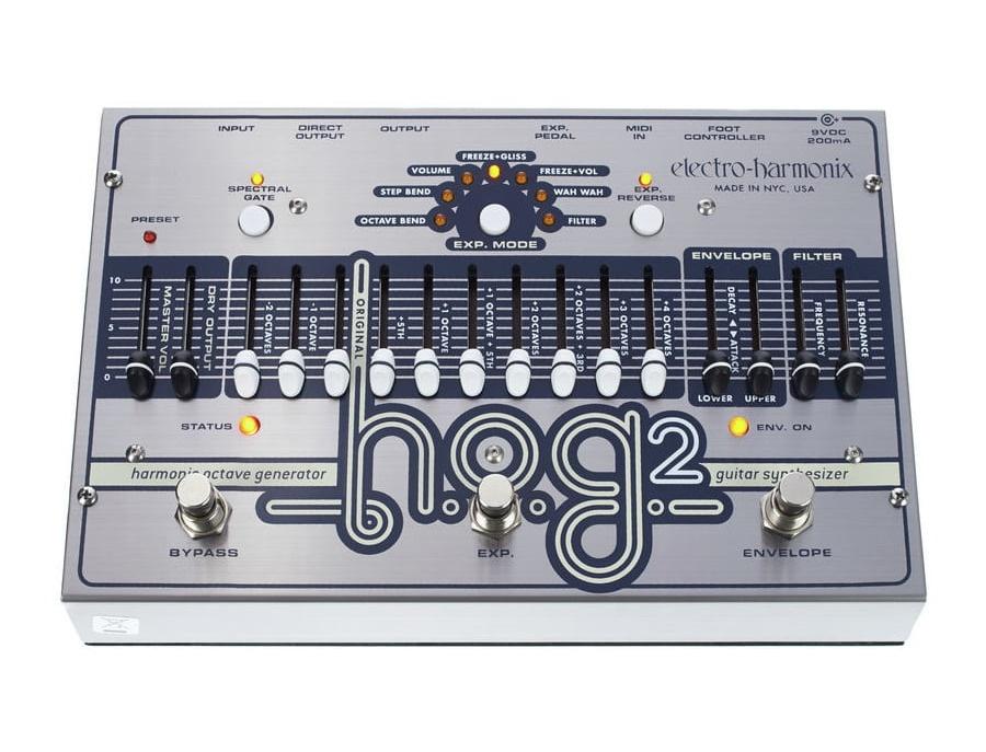 Electro harmonix hog 2 harmonic octave generator guitar effects pedal xl