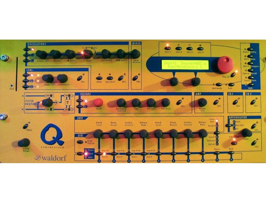 Waldorf Q Rack (yellow)