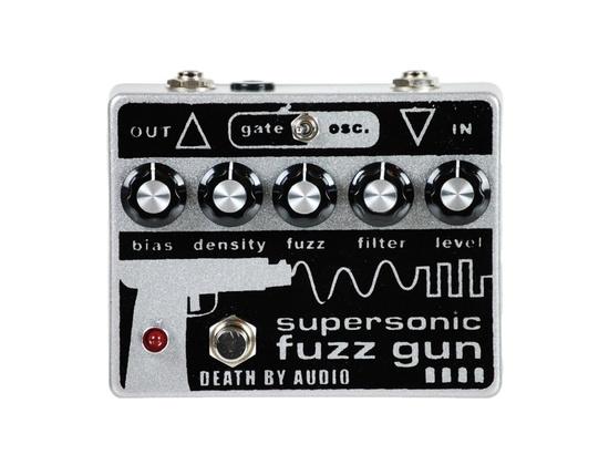 Death By Audio Supersonic Fuzz Gun Pedal