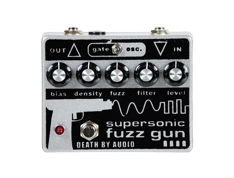 Death By Audio Supersonic Fuzz Gun Pedal