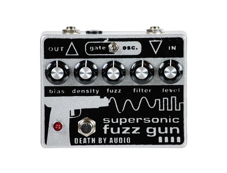 Death by audio supersonic fuzz gun pedal xl
