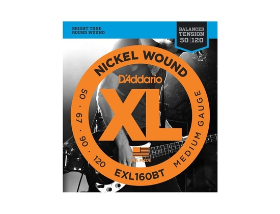 D'Addario EXL160BT Balanced Tension Bass Strings