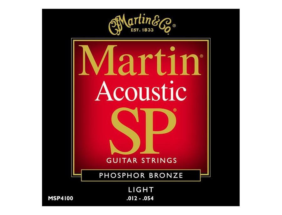 Martin  Acoustic SP Phosphor Bronze Light MSP4100