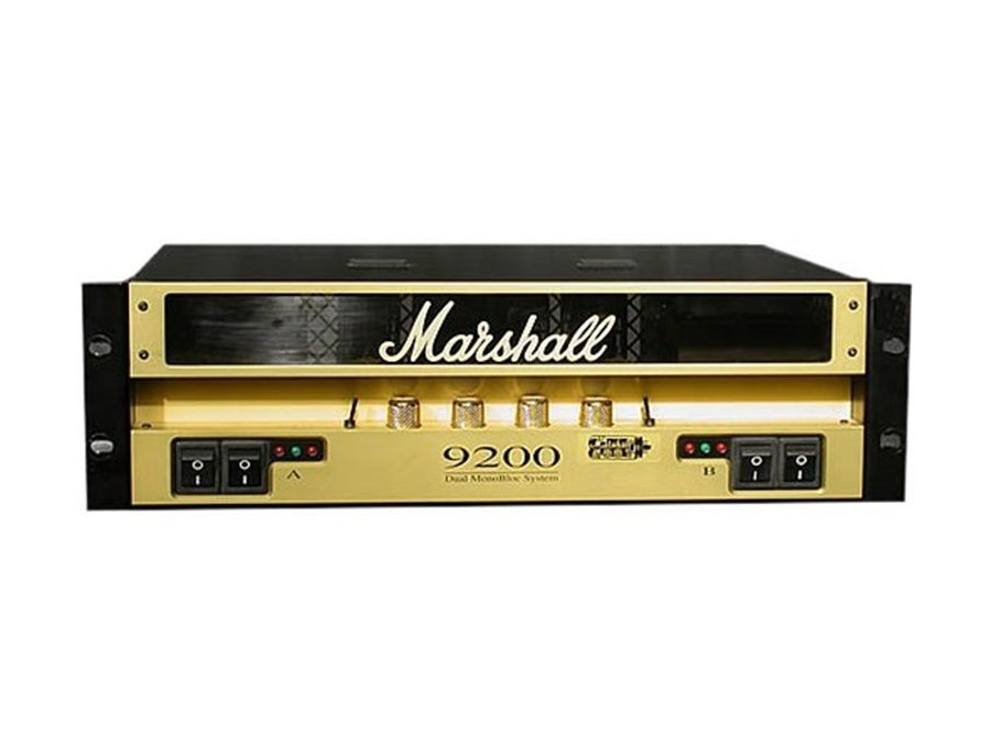 Marshall 9100 Monoblock Power Amp Reviews  U0026 Prices