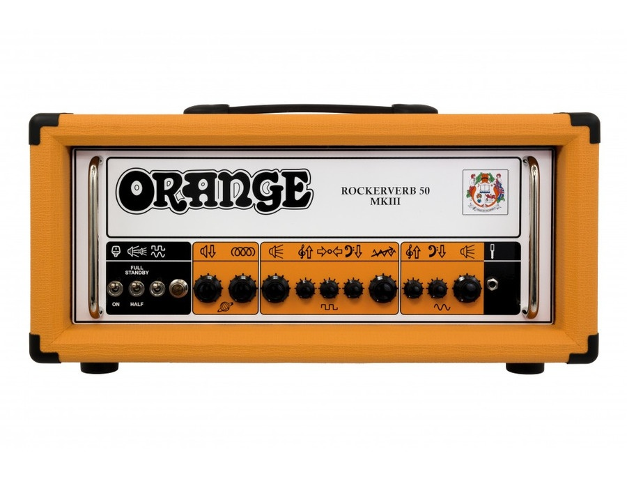 Orange Rockerverb 50 Mk III Head