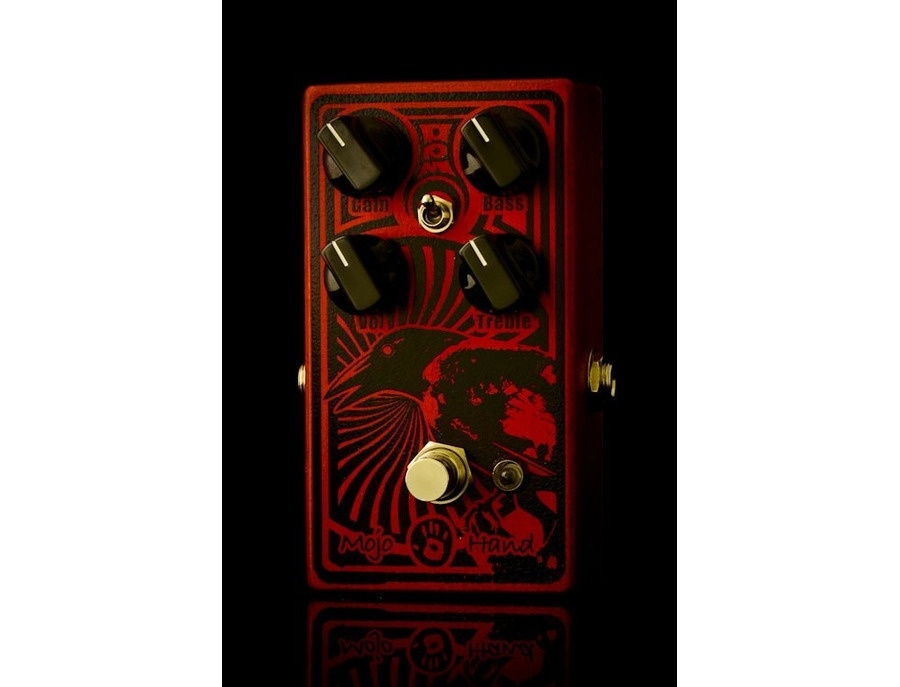 Mojo Hand fx rook overdrive pedal (red, crow on the right side)